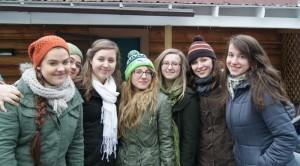 Зимний лагерь сестёр 2014