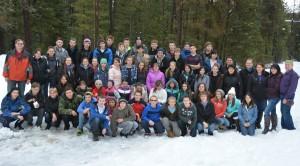 Зимний подросковый лагерь 2015